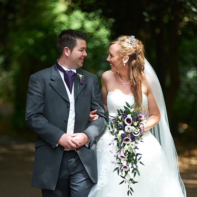 Ruth & Aaran from Banbury using Tudor Photography Wedding services
