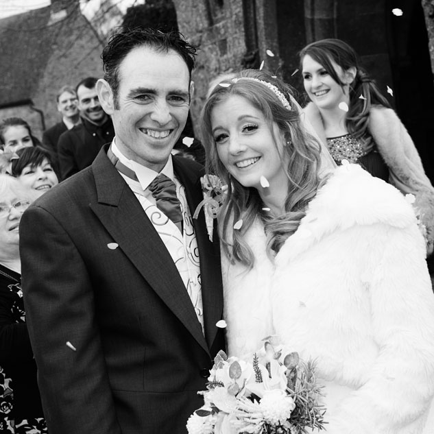 Claire and Dan from Banbury using Tudor Photography Wedding services