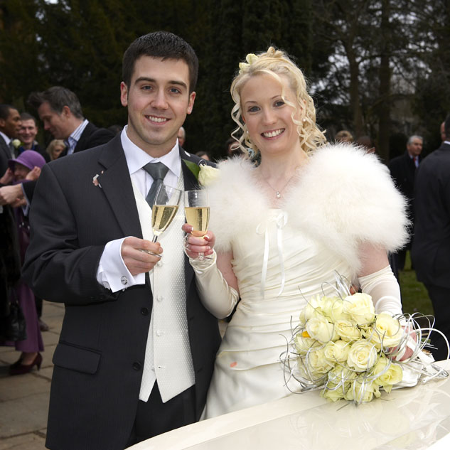 Keely & Mathew from Banbury using Tudor Photography Wedding services